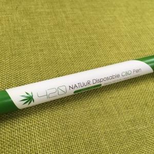 NATUuR Disposable PEN Ver.2 420#MaryJane CBD4.2%|vapemania