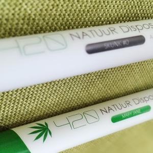 NATUuR Disposable PEN Ver.2 420#MARYJANE #SKUNK CBD4.2% 2本セット|vapemania