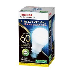 【商品名】 (まとめ)東芝ライテック LED電球 一般電球形60W形相当 7.3W E26 昼白色 ...