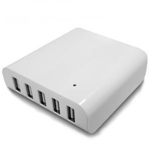 USBハブ 急速充電器 40W 5ポート ACアダプタ iPhone/Android対応|vapesteez