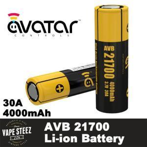 正規 AVATAR AVB 21700 電子タバコ リチウムイオン バッテリー 30A 4000mAh 電子タバコ用 バッテリー|vapesteez