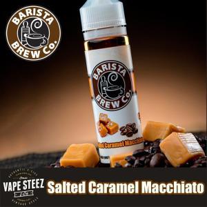 電子タバコ リキッド BARISTA BREW Co. Salted Caramel Macchiao|vapesteez
