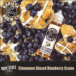 電子タバコ リキッド BARISTA BREW Co. BARISTA BREW Co. Cinnamon Glazed Blueberry Scone|vapesteez