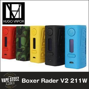 電子タバコ MOD Hugo Vapor BOXER V2 211W BOX MOD 急速充電2A対応 温度管理機能 TC|vapesteez
