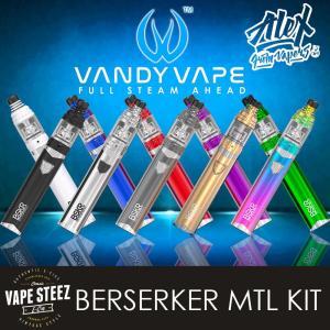 電子タバコ スターターキット VANDY VAPE - BERSERKER MTL Starter Kit タバコ吸い / BSKR バーサーカー|vapesteez
