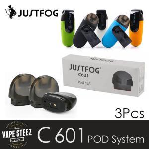 電子タバコ 交換コイル 正規 JUSTFOG C601 用 交換POD 1.7ml 1.6ohm|vapesteez