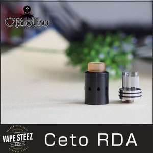 正規品 Cthulhu クトゥルフ CETO RDA BFピン付き 24mm メッシュシート フレーバー クラウドチェーサー|vapesteez