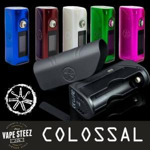 電子タバコ asMODus COLOSSAL 80W BOX MOD 18650シングルバッテリータイプ アズモダス MADE in USA|vapesteez