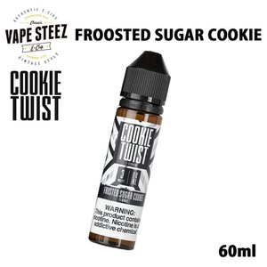 電子タバコ リキッド COOKIE TWIST E-LIQUID | FROSTED SUGAR COOKIE 60ml フロステッド シュガー クッキー lemon twist MADE IN USA|vapesteez
