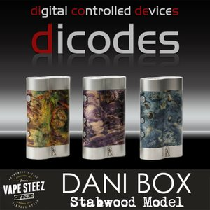 高性能 電子タバコ MOD Dicodes DANI BOX Stabwood 60W ハイエンド テクニカルMOD 温度管理機能 多彩なモード搭載|vapesteez
