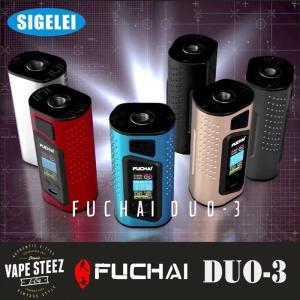 電子タバコ SIGLEI FUCHAI DUO-3 BOX MOD 18650最大3本使用 ハイパワーMOD vapesteez