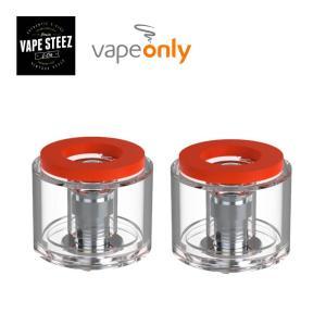 電子タバコ 正規 vapeonly社製 交換専用 atomizer タンク 2個入り DWARF 交換用タンク|vapesteez