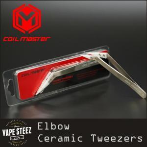 Coil Master Elbow Ceramic Tweezer コイルマスター ピンセット 精密ドライバー|vapesteez
