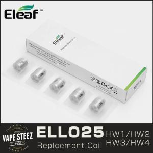 電子タバコ ELEAF 交換用コイル HW1/HW2/HW3/HW4 VAPE 低抵抗値  ELLO Atomizer|vapesteez