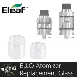 電子タバコ 交換ガラス Eleaf ELLO アトマイザー用 交換ガラス|vapesteez