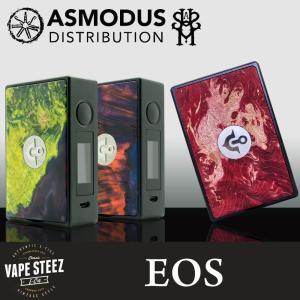 電子タバコ MOD ASMODUS × ULTRONER EOS BOX MOD 18650 デュアルバッテリー vapesteez