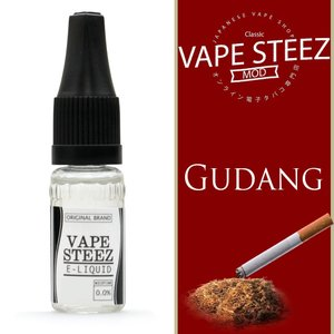 電子タバコ リキッド VAPE STEEZ オリジナルフレーバー Gudang 送料無料 vapesteez