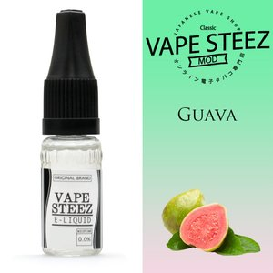 電子タバコ リキッド VAPE STEEZ オリジナルフレーバー グアバ Guava 送料無料 vapesteez