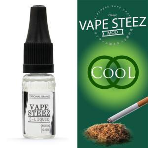 電子タバコ リキッド VAPE STEEZ オリジナルフレーバー Cool 送料無料 vapesteez