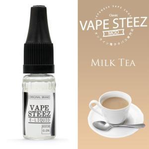 電子タバコ リキッド VAPE STEEZ オリジナルフレーバー ミルクティー 送料無料 vapesteez