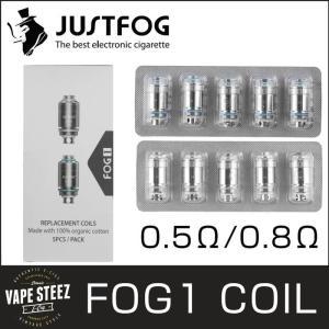 電子タバコ VAPE コイル JUSTFOG FOG1 用 5個入り 1セット DTL 0.5Ω MTL 0.8Ω|vapesteez