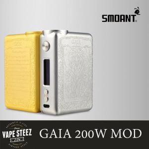 電子タバコ BOX MOD SMOANT GAIA 200W デュアルバッテリーガイア vapesteez