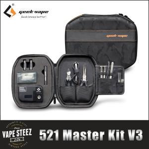 Geekvape 521 Master Kit V3 ビルドツールセット コイルマスター COILMASTER ツールキット|vapesteez