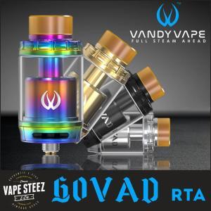 VANDY VAPE GOVAD RTA MAX26mm 電子たばこ アトマイザー 濃厚フレーバーチェイサー|vapesteez