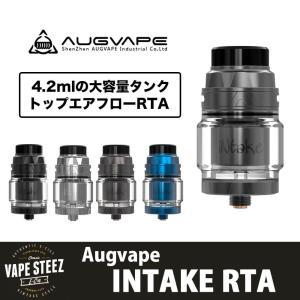 AUGVAPE Intake RTA 大容量  4.2ml シングルコイル 24mm トップエアフロー アトマイザー|vapesteez