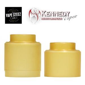電子タバコ パーツ アクセサリー Kennedy ウルテムキャップ ultem 25mm 1個入り|vapesteez
