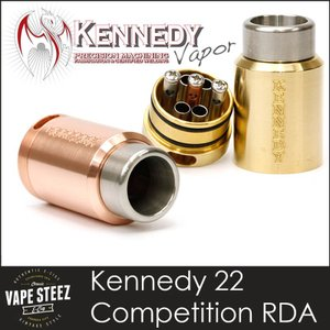 電子タバコ アトマイザー Kennedy 22 Competition RDA|vapesteez