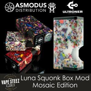 電子タバコ MOD ULTRONER ASMODUS LUNA SQUONKER MOD MOSAIC  アズモダス 18500バッテリー|vapesteez
