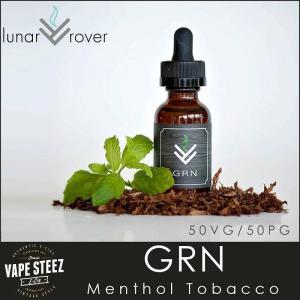 電子タバコ リキッド Lunar Rover GRN Menthol Tobacco E-LIQUID 電子たばこ フレーバー vapesteez