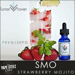 電子タバコ リキッド Lunar Rover SMO Strawberry Mojito E-LIQUID 電子たばこ フレーバー vapesteez