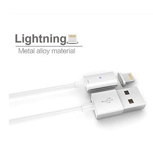 iPhone Lightning 充電ケーブル 2個セット 1m マグネット式 データ転送/急速充電対応/|vapesteez