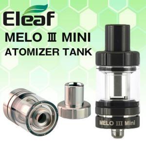 電子タバコ アトマイザー MELO3 mini Eleaf 2ml|vapesteez