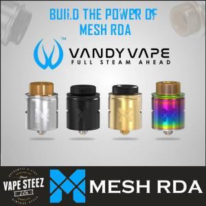 VANDYVAPE MESH RDA 24mm BFピン付き メッシュワイヤー メッシュコイル|vapesteez