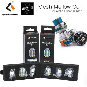 Geekvape MESH MELLOW COIL ( ALPHA SUB TANK 用 ) 電子タバコ パーツ 交換コイル vape|vapesteez