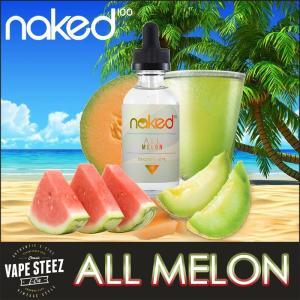 電子タバコ リキッド Naked100 ALL MELON E-LIQUID 電子たばこ フレーバー|vapesteez