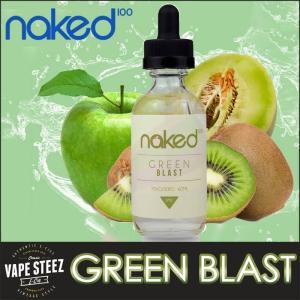 電子タバコ リキッド Naked100 GREEN BLAST E-LIQUID 電子たばこ フレーバー|vapesteez