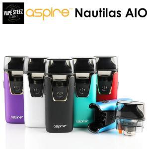 電子タバコ スターターキット ASPIRE Nautilus AIO ノーチラスコイル搭載 POD型 1000mAh アスパイヤ|vapesteez
