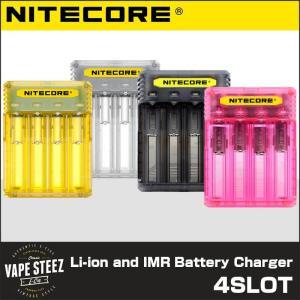 リチウムイオンバッテリー 充電器 NITECORE Q4 クイックチャージャー 2000mA対応|vapesteez