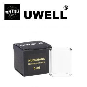 Uwell社製 交換専用 glass 1個入り Nunchaku アトマイザー用スペアガラス|vapesteez