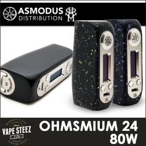 電子タバコ asMODus BOX MOD OHMSMIUM24 TC 80W 正規品 vapesteez