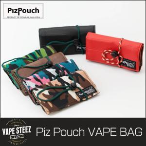 VAPE ケース PIZ POUCH VAPESTEEZ ツールポーチ 電子タバコ ツールバッグ VAPE 送料無料 ピズポーチ ツールバッグ Tool Bag|vapesteez