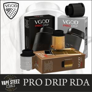 正規品 VGOD PRO DRIP RDA 24mm ドリッパー 爆煙 VAPEトリック スモークトリック 上級者向け|vapesteez
