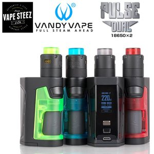 Vandyvape Pulse Dual 18650 ×2 with Pulse V2 BF RDA 電子タバコ スターターキット 爆煙|vapesteez