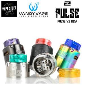 VANDYVAPE PULSE V2 RDA BF対応 24mm 電子タバコ アトマイザー PULSE 2 RDA BF対応 vapesteez