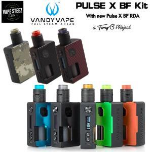 電子タバコ スターターキット スタンダードドエディション Vandy Vape Pulse X kit|vapesteez