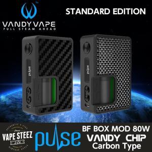 電子タバコ VANDYVAPE PULSE 80W MOD スタンダードエディション(CARBON TYPE )30ml リフィルボトルなし vapesteez